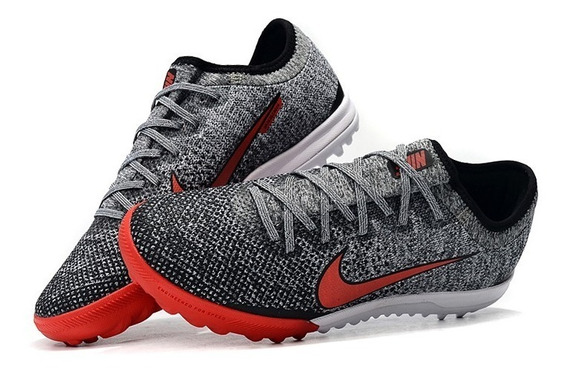 Chuteira Nike Mercurial Vapox Vllsociety Gray+red Original :