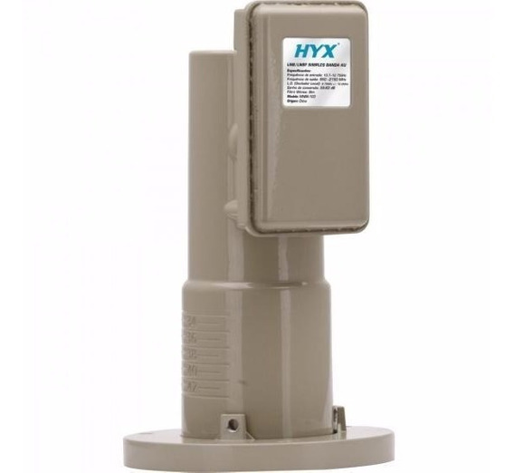 Lnbf Multiponto Banda C Hyx/gigasat Kit Com 3