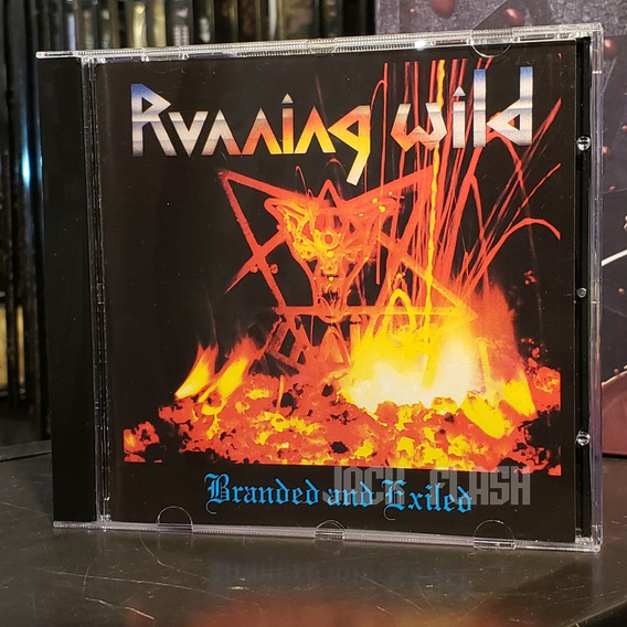 Running Wild - Branded And Exiled Cd Accept