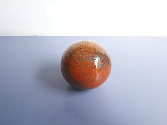 Antiga E Bela Bola Para Decoração Em Vidro