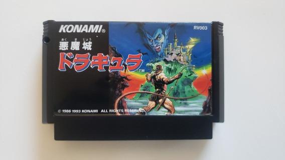 Castlevania 1 Nes Famicom Original Nintendo Dracula 1 Jogo