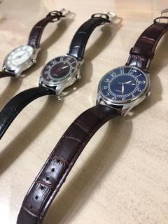Reloj De Hombre Malla De Cuero Muy Elegante