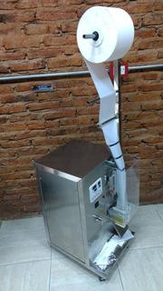 Envasadora / Conformador De Bolsa Para Dosificadora De Polvo