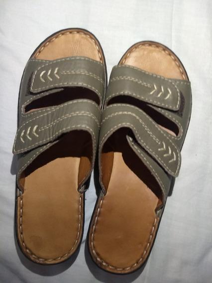 Sandalias De Cuero Talle 37 Sin Uso