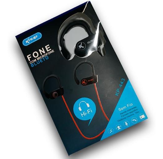 Fone De Ouvido Bluetooth Knup C/ Microfone - Promoção!