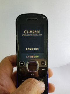 Samsung Beat Techno M2520 Semi-novo Ótimo Estado Original