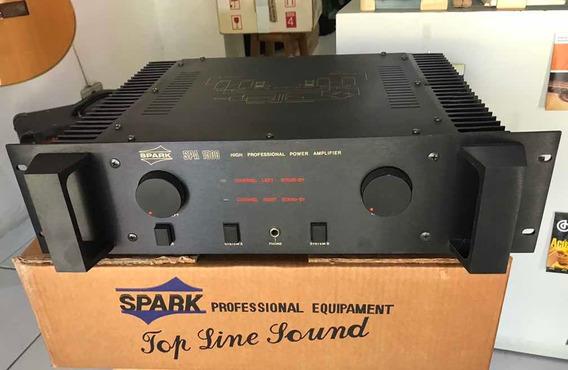 Amplificador De Potência Stereo Profissional 260 + 260 Watts