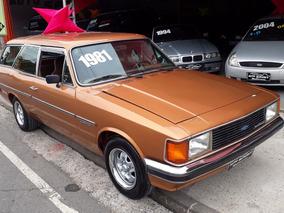 Chevrolet Caravan Comodoro Impecavel Aceito Trocas Baixo Km