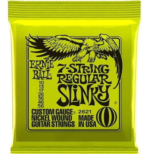 Encordoamento Ernie Ball 7 Cordas Regular Slinky 010-56