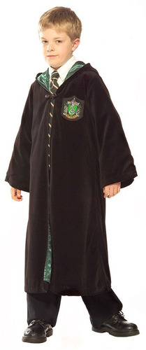 Disfraz Niño: Premiun Slytherin Robe