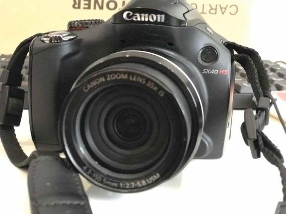 Câmera Fotográfica Canon Power Shot Sx40 Hs
