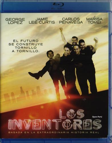 Imagen 1 de 3 de Los Inventores  Spare Parts Gorge Lopez Pelicula Blu-ray