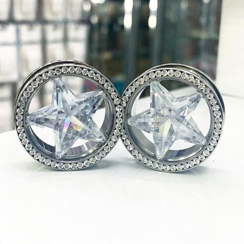 Piercing Expansor Estrella 5,6 Y 8mm Piercing Argentina ®
