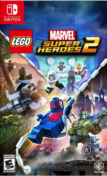 Lego Marvel Super Heroes 2 - Switch - Pronta Entrega