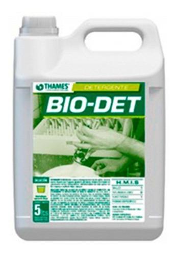 Imagen 1 de 5 de Detergente Lavavajillas Ultra Concentrado Bio Det X 5lts