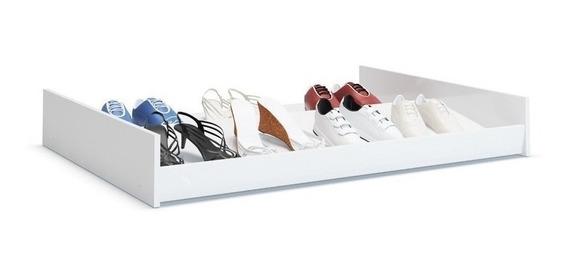 Sapateira Organize Sapatos No Chão Debaixo Cama