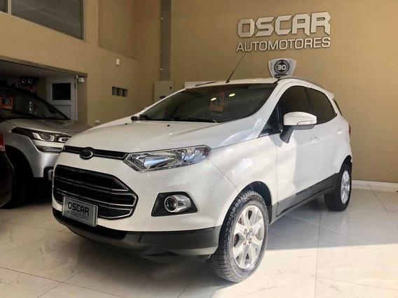 Ford Ecosport Titanium 1.6 110cv Full Blanca Año 2017 Nueva