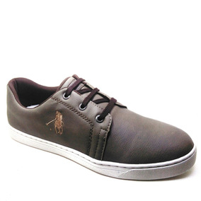Tênis Masculino Polo Us Altar Taupe 2395