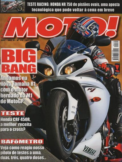Moto! N°170 Yamaha R1 Honda Crf 450r Nr 750 Ktm 450 Exc