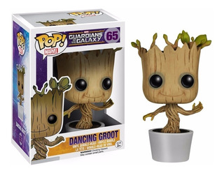 Funko Pop Dancing Groot Guardians Of The Galaxy - Minijuegos