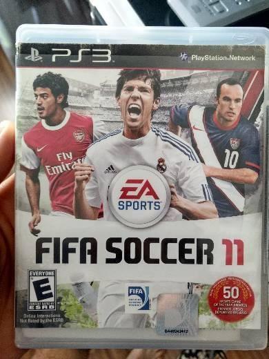 Jogo Fifa Soccer 11 - Ps 3 (playstation 3)