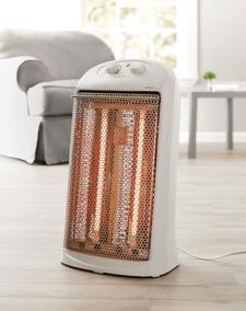 Calefactor Mainstays Calentador Eléctrico Cuarzo Blanco