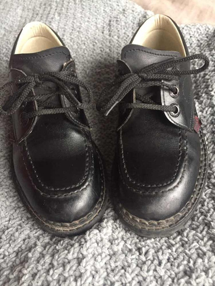 Zapato Escolar Talle 32 Negro