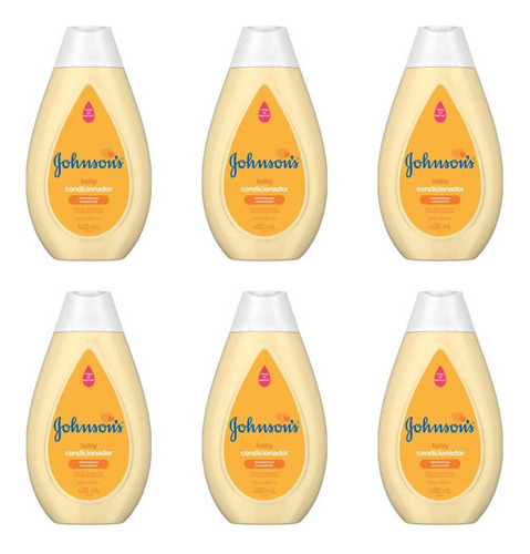 Johnsons Baby Condicionador 200ml (kit C/06)