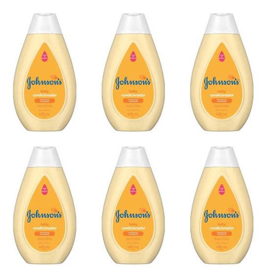 Johnsons Baby Condicionador 200ml (kit C/06)
