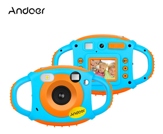 Andoer Wifi Crianças Criativas Câmera 5mp 1080 P Hd