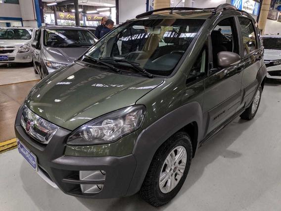 Fiat Idea 1.8 Flex Adventure Verde 2015 (completa)