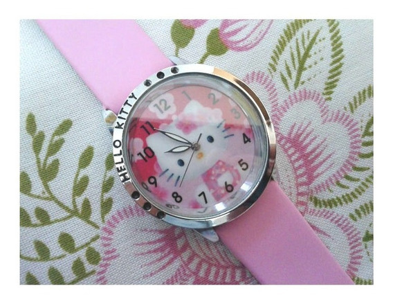 Relógio De Pulso Hello Kitty Menina Criança Adolescente 147