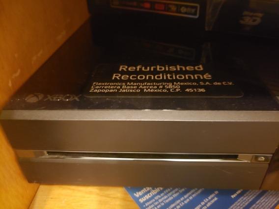 Xbox One Com 3 Controles E 6 Jogos Brinde Conforme Descricao