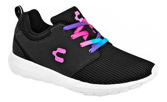 Sneaker Casual Dtt95157 Piel Sintetica Charly Textil Malla