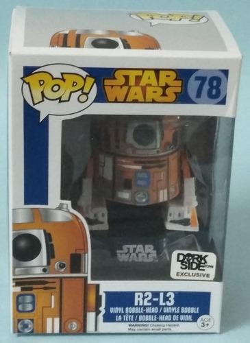 R2-l3. Star Wars. #78. Dorkside Exclusive. Pop. Nuevo.