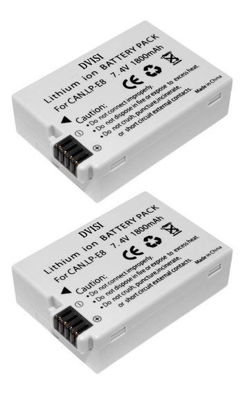 Bateria Para Canon Lp-e8 550d 600d 700d T2i T3i T4i T5i