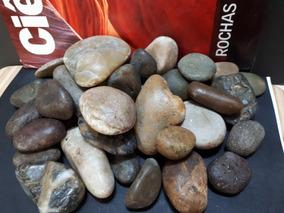 Rochas Pedras Seixos Polidos Importados Naturais Lote 02kg