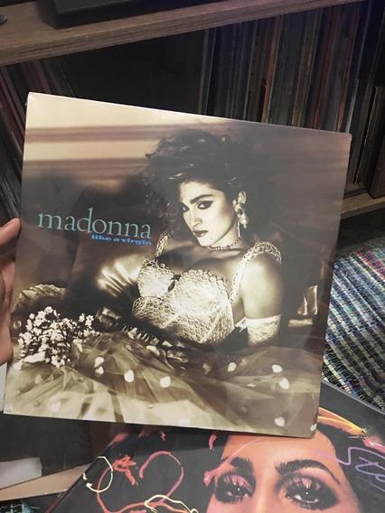 Madonna Like A Virgin Lp Importado