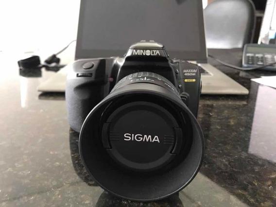 Câmera Fotográfica Minolta Maxxum 450 Si