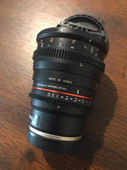 Lente Rokinon 50mm 1.5 Para Sony E-mount
