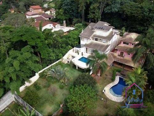 Casa Com 4 Dormitórios À Venda, 700 M² Por R$ 2.200.000 - Vila Santo Antônio - Cotia/sp - Ca1247