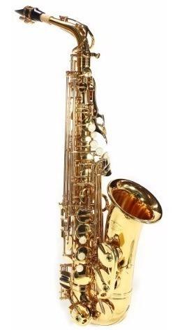 Saxofone Alto Eb Jahnke Laqueado Jsah001