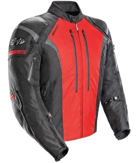 Campera Joe Rocket 5.0 Atomic Xl Proteccion Roja Honda Av