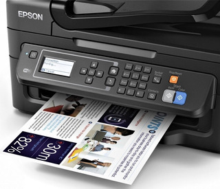 Impresora Epson Workforce 2630 $120, Con Sistem 150 Sin Chip