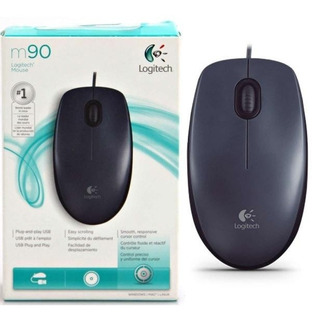 Mouse Usb Logitech M90 Optico - Factura A / B
