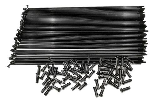 Imagen 1 de 2 de Pack De Rayos Negros Con Niples Importados 190mm X 72 U.