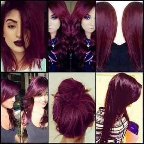 Mascara Marsala Vinho New Liss Hair 500ml A Melhor Promocao.