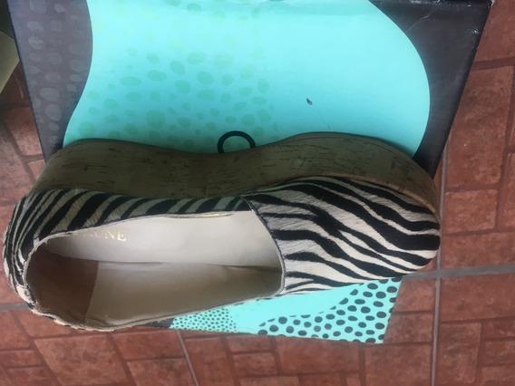 Zapato Animal Print Con Plataforma Marca Prune