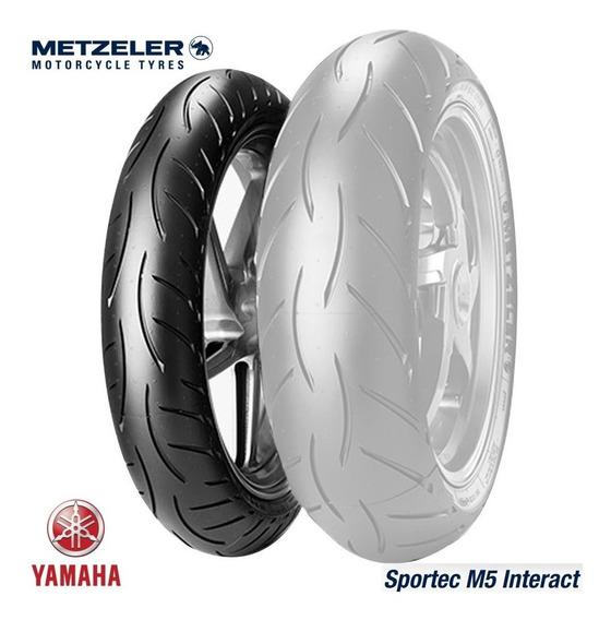Pneu Dianteiro 110/70-17 Metzeler Sportec M5 Mt 03 R3 Fazer
