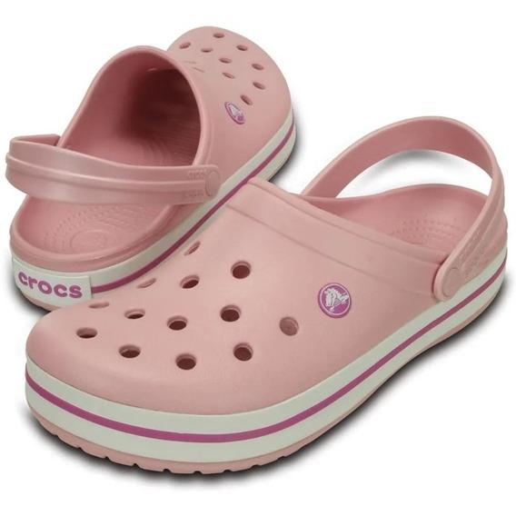 Crocs Originales Crocband Unisex Hombre Mujer Colores Olivos
